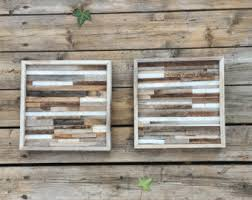Planked Usa Wall Art Panels by Wood Wall Art Etsy