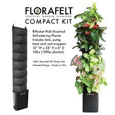 Wall Mounted Planter Compact Vertical Garden Kit U2014 Edible Walls