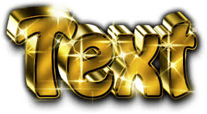 3d gold text generator panel by jipito graphicriver