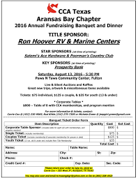Ace Hardware Locations Houston Tx 2016 Aransas Bay Chapter Annual Banquet U2013 Cca Texas