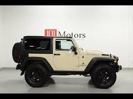 tan jeep wrangler 2 door 2011 jeep wrangler rubicon 6 4l hemi for sale in tempe az stock