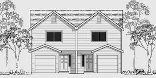 two floor plan two storey residential building floor plan narrow lot duplex