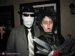 Invisible Halloween Costume Female Edward Scissorhands Diy Costume Photo 5 5