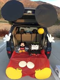 trunk or treat mickey mouse halloween pinterest mickey mouse