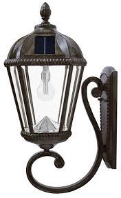 solar light wall solar wall light bronze royal carriage lantern solar light bulb