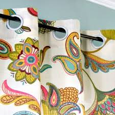 How To Make Grommet Top Curtains How To Make No Sew Grommet Curtains Ofs Maker U0027s Mill
