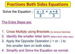 fractions on both sides equations passy u0027s world of mathematics