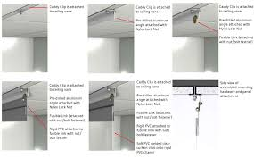 Drop Ceiling Installation by Drop Ceiling Track Installation For Data Center Enclosures