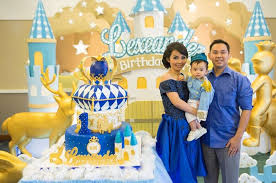1st birthday party ideas boy prince birthday party ideas photo 1 of 15 catch my party