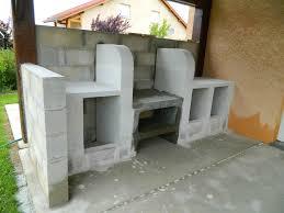 fabriquer cuisine exterieure meuble vasque en bton cellulaire plus fabriquer cuisine d ete beton