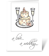 wedding congratulations card wedding congratulations cake chagne send this greeting card