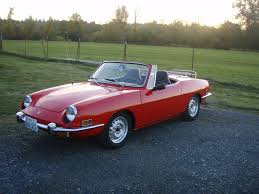 fiat spider 1978 my first car fiat 850 not as perfect but close martian red