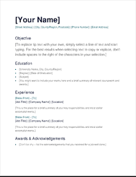 fill in resume template simple cv office templates