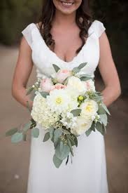 wedding flowers eucalyptus secluded garden estate wedding eucalyptus bouquet garden roses