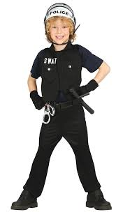 kids swat halloween costum boys swat fancy dress costume fancy me limited