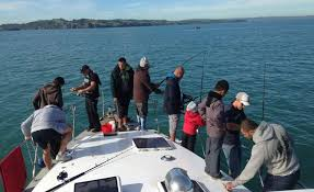 mv extasea auckland fishing charters u0026 lunch or dinner harbour