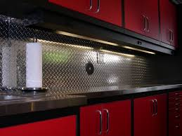 Brushed Stainless Steel Backsplash by Stupendous New Age Professional Series Metal Garage Storage