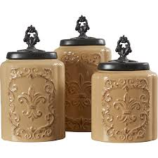 Tuscan Kitchen Canisters Sets 28 Designer Kitchen Canister Sets Home Canister Sets And