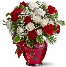 christmas flowers merry christmas designer bouquets flowers