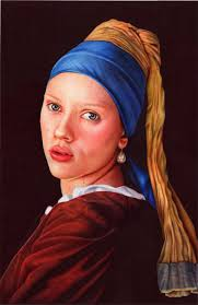 girl with a pearl earrings girl with a pearl earring ballpoint pen by vianaarts on deviantart