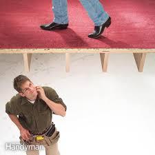 Squeaky Floor Repair How To Fix Squeaky Floors Family Handyman