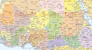 Africa Political Map by 100 Map Of Africa Pdf Hydrodependency In Africa Risky