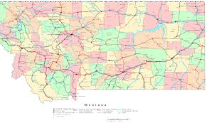 Utah Cities Map by Map Of Montana Cities Montana Map