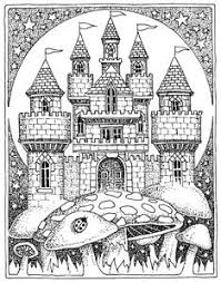 Coloring Pictures Coloring Pages Castles