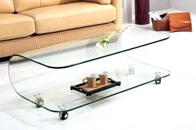 all glass coffee table all glass table macky co
