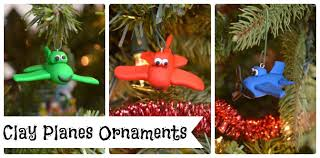 diy planes ornaments one artsy mama