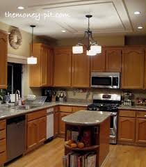 Modernizing Oak Kitchen Cabinets by Updating Cabinets With Door Hardware The Kim Six Fix