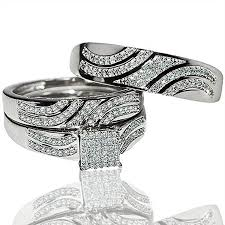 Walmart Wedding Rings Sets For Him And Her by Jewelry Rings Trio Wedding Ring Sets Cheap Ebay Walmart
