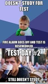 Test Meme - when test day comes by tiggerhappy meme center