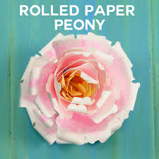 tutorial quilling flower rolled paper peony flower tutorial quilling jennifer maker