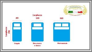 materasso standard misure standard