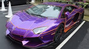 lamborghini aventador purple lamborghini aventador purple chrome tron aventador walkaround
