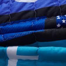 Blau F Schlafzimmer Blau Stepp Cartoon Fußmatte 100 Polyester Hundedruck Carpet Für