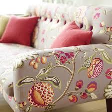 Cherry Blossom Upholstery Fabric Warwick Fabrics Fabric Studio