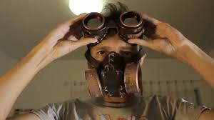 gas mask for halloween costume steam punk gas mask youtube