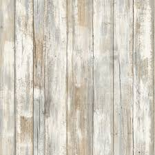 Peal And Stick Wallpaper Distressed Wood Peel And Stick Wallpaper Decor Eonshoppee