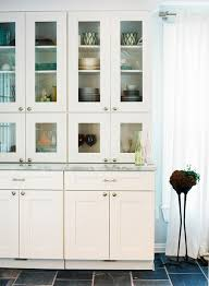 Glass Kitchen Wall Cabinets by Standard Cabinets With Shallow Stacked On Top Granite Counter