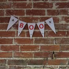 halloween bunting boo by daisyley designs notonthehighstreet com