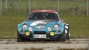 renault alpine classic renault alpine a110 s 1600 youtube