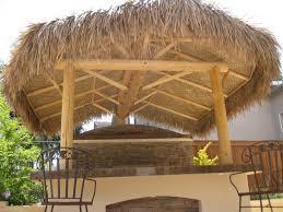 build a cabana bamboo thatch rolls tiki bar thatch tiki shack importer