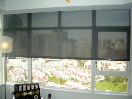 Simple Window Treatments For Large Windows Ideas Shades Cool Large Window Shades Grey Rectangle Modern Canvas