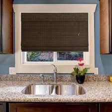 the bamboo shades natural home depot with regard to window blinds