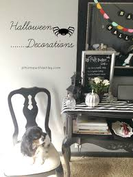 halloween decor how to make a table runner at home with ashley