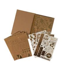 joann fabrics photo albums dcwv insta photo album made easy gold and kraft joann