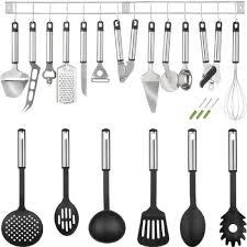 ustensiles de cuisines ustensiles de cuisine lot de 19 pièces tectake achat vente