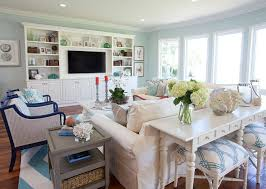 Coastal Cottage Living Rooms by Beach House